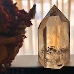 Smoky Quartz Crystal Wand Natural Polished Self Standing Tower Home Decor Rock Stone Minerals Carved Gemstones Quartz Metaphysical [B]