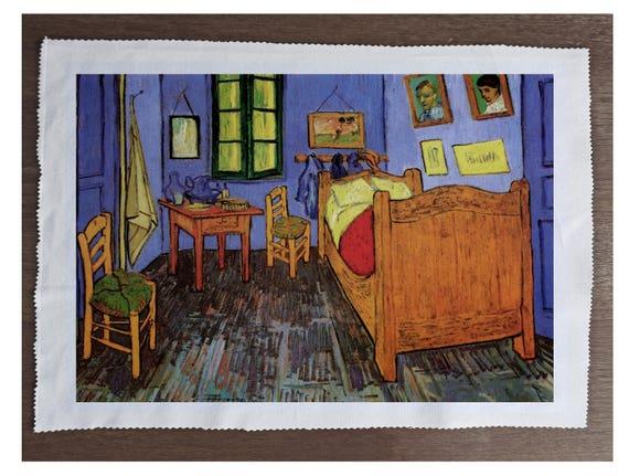 Vincent van gogh pittura camera da letto - cucito, cuscino, tappezzeria,  Craft, Patchwork e Quilting pannello di tessuto 100% cotone