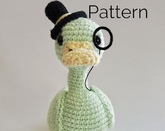 Sir Duckington Crochet Duck Pattern