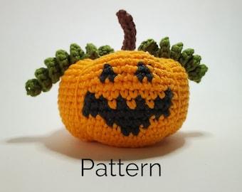 Jack-o-Lantern Pumpkin Crochet Pattern | Easy Halloween Décor