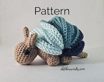 Anton the Armadillo Crochet Pattern
