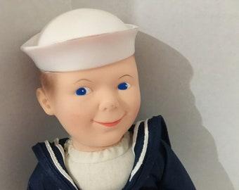 NEW Costume DANCE top Pullover Short Sleeve Sailor Collar Stripes Cracker Jack