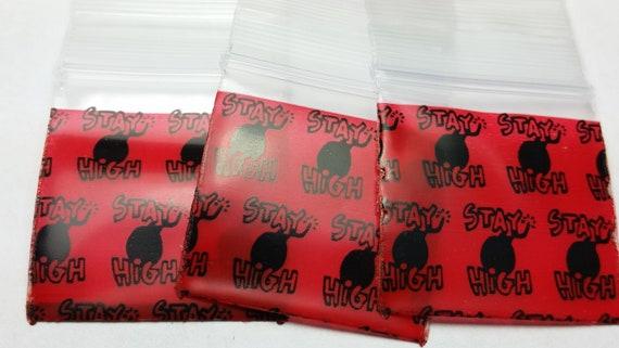 Stay High 1510 Original Mini Ziplock 2.5mil Plastic Bags 1.5 x 1 Reclosable Baggies The Baggie Store