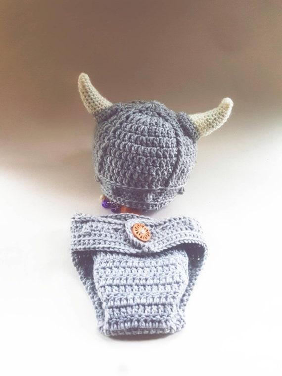 Baby Wikinger Hut Und Windel Abdeckung Etsy