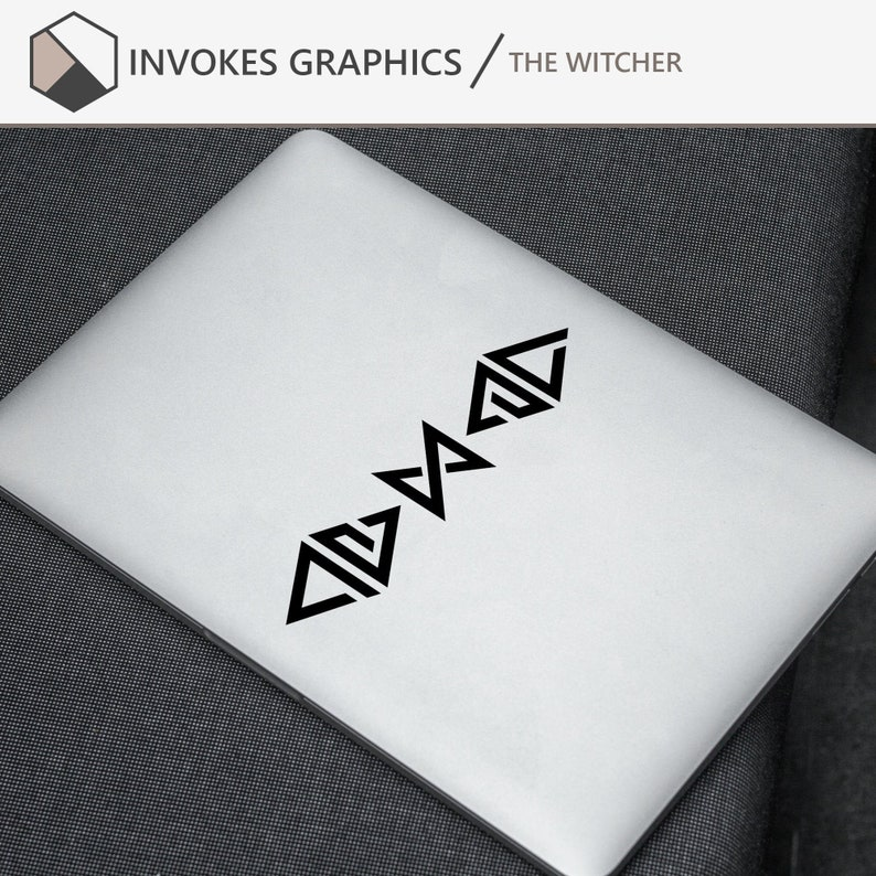 The Witcher  Signs Vinyl Decal Stickers image 0