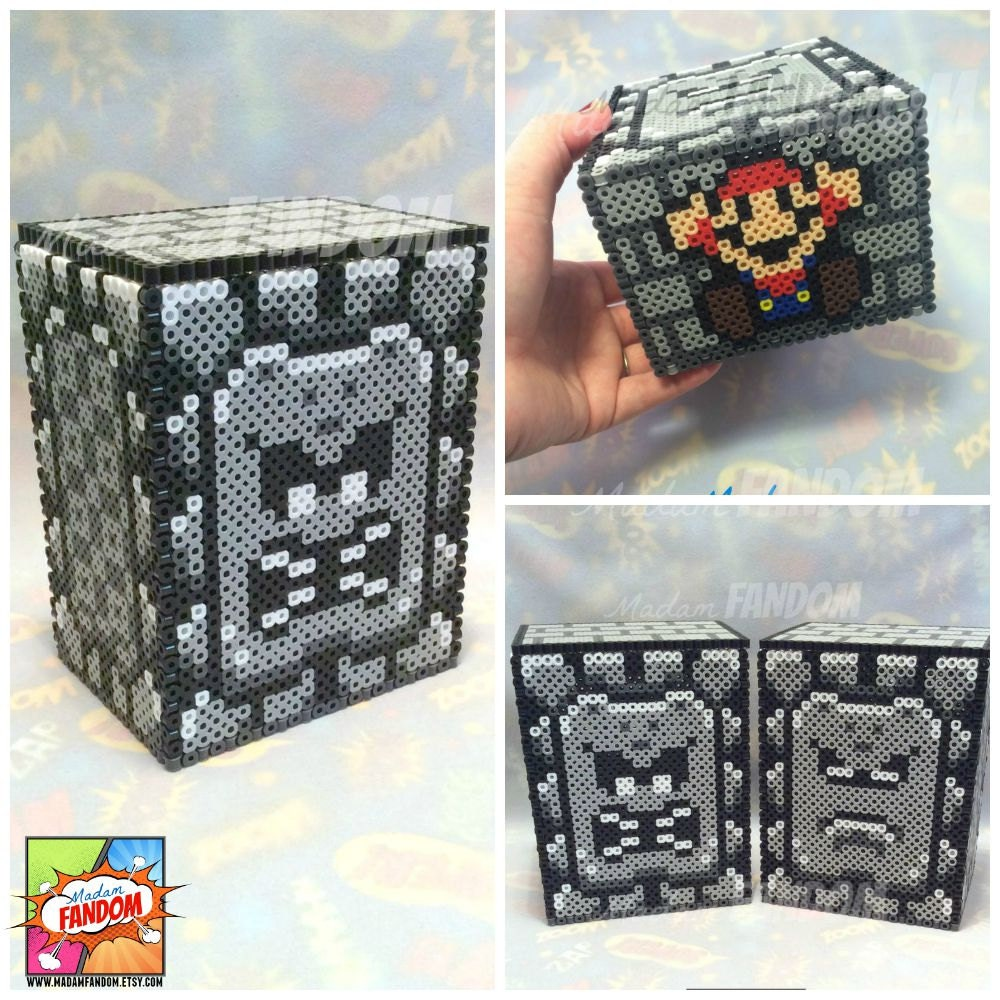 6cc82be92 Super Mario Box with Lid Thwomp Character Box