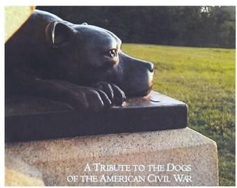 """Gettysburg Civil War Dog Print Set with Tribute-""""Sallie""""-K9 Hero of 11th PA Volunteers"""