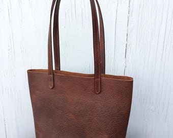 Country Leather Tote