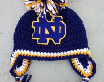 Notre Dame Spirit Hat - Blue Gold fd7184b46c1
