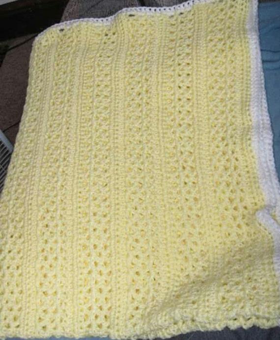 Crochet Lacy Afghan Crochet Throw Crochet Blanket Handmade Etsy
