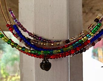 New Item! Beaded Guitar String Necklace