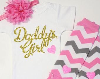 bébé fille à venir maison tenue, tenue de bébé fille, tenue de bébé, ensemble de vêtements bébé fille, fille de vêtements bébé, cadeau bébé, fille à papa