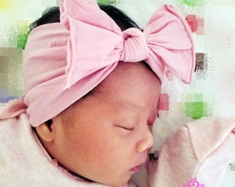 Newborn headband - Baby Headband - Infant headband - Baby Girl headband -  nylon headband - one size fits all - headwrap - head wrap NY01 58da603d989