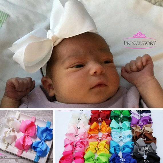 Baby Girl headband Baby Headband Bows Newborn headband  bac901a177c
