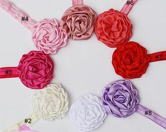 Flower Headband Baby - Flower Head Band - Baby Girl Headbands - Newborn Headbands - Baby Headbands - Infant Headbands