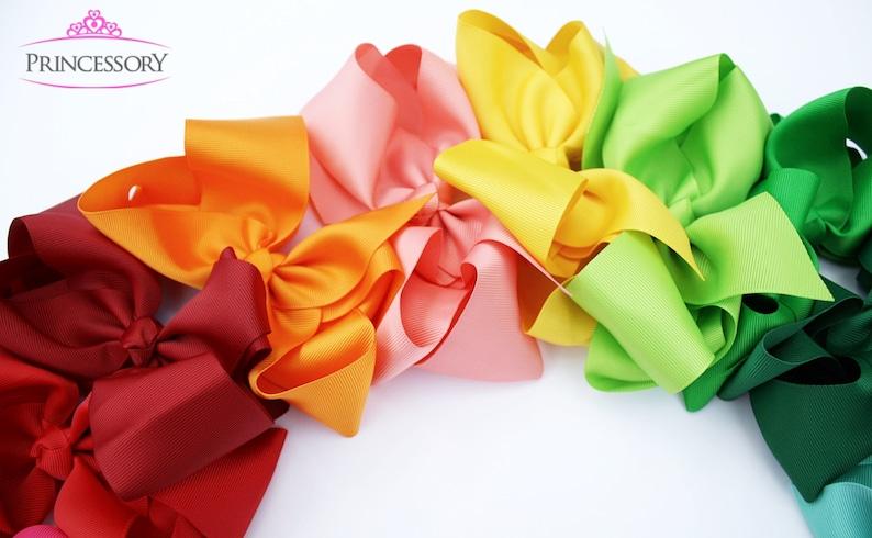 baby gift Toddler Headband hair bows baby bow headband,kids HF21 Large Hair Bow headband 4 inch bow baby headbands baby girl headband