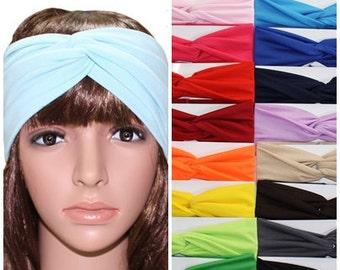 headbands for women Turban Headband boho headband Yoga headband Turban headwrap gift for mom headband adult twist mothers day CH08