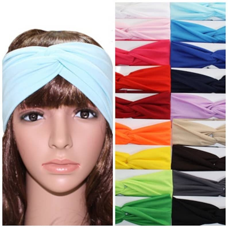 headbands for women Turban Headband mothers day gift boho image 0