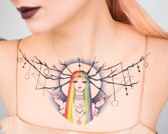 Prisma Temporary Tattoo by Leilani Joy