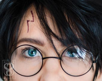 Harry Potter Scar Etsy