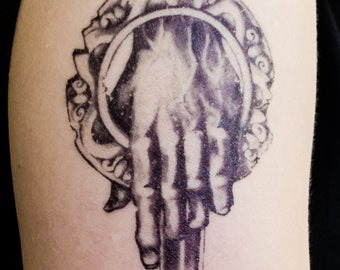 Hand of the King Temporary Tattoo