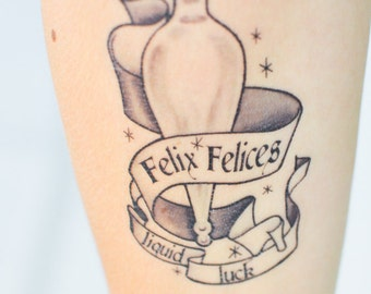 Felix Felicis Temporary Tattoo