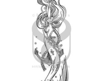 The Little Mermaid Print