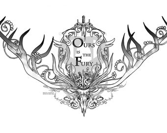 Ours is the Fury Print