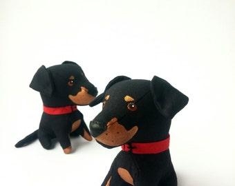 Dog Soft Plush Toy Etsy