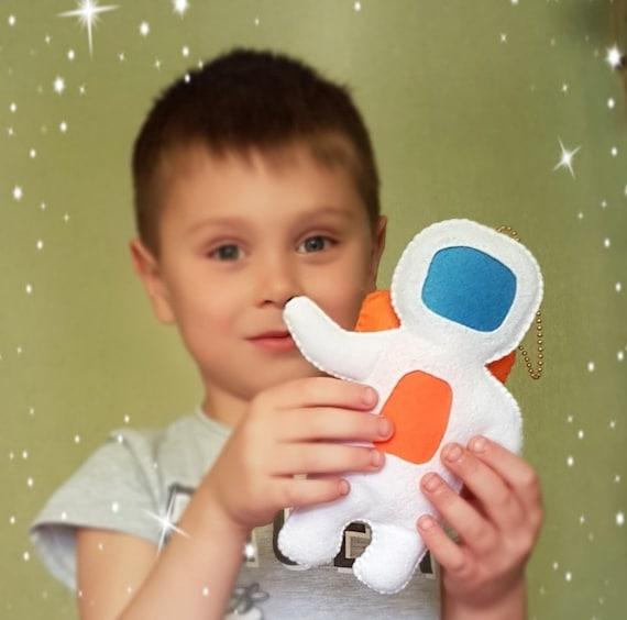 Chica Espacio Niños Astronauta Ducha Peluche Para Adorno Bebé Juguete Niño Fieltro Vivero eBWdrCxo