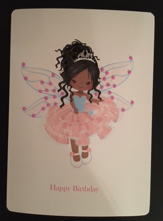 """Flower Fairies Black or White  5/"""" X 7/"""" Card Fused Glass Decals"""