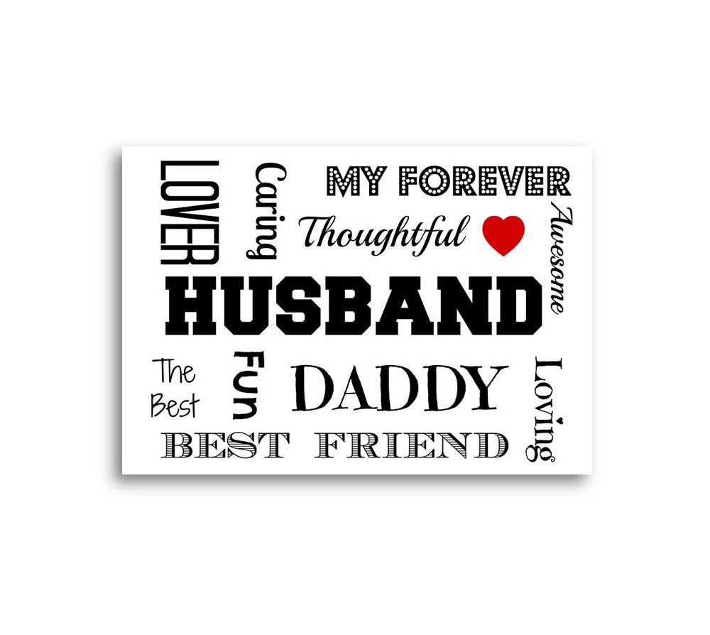 Unique Wife Card Husband Birthday Personalised