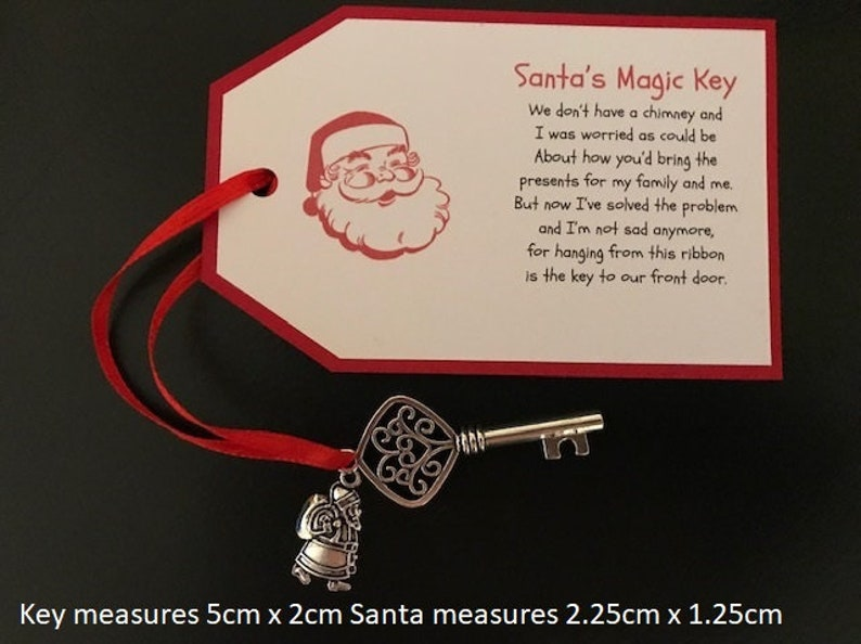 Personalised Santa's Magic Key Personalized Santa's image 0