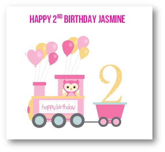 Personalised 1st Birthday 2nd 3rd 4th