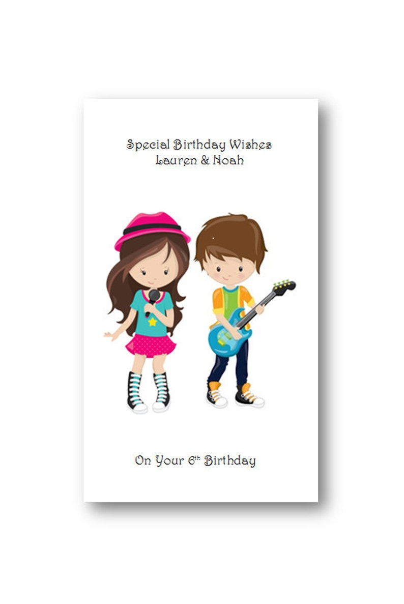 Personalised Twins Birthday Card Personalized