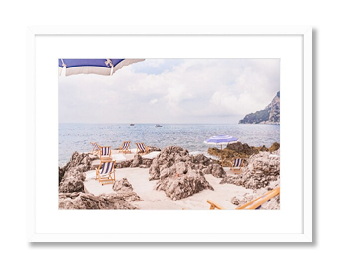 La Fontelina -- Capri, Italy -- Amalfi Coast -- Travel Photography -- Home Decor