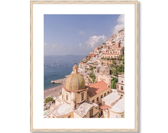 Positano VIbes -- Amalfi Coast -- Travel Photography -- Home Decor