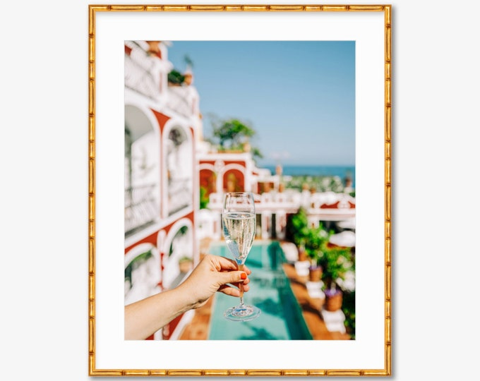 Cin Cin Positano -- Amalfi Coast -- Travel Photography -- Home Decor