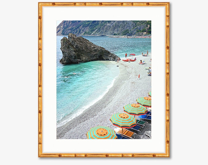 Monterosso -- Cinque Terre, Italy -- Travel Photography -- Home Decor