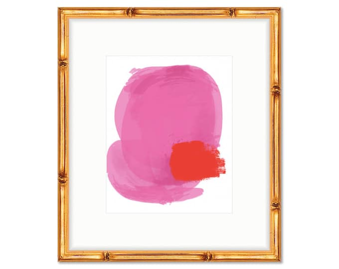 Abstract #1 -- Art Print -- Home Decor -- Live Colorfully