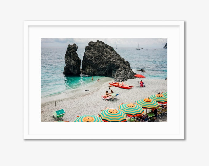 Italian Summer -- Cinque Terre, Italy -- Travel Photography -- Home Decor