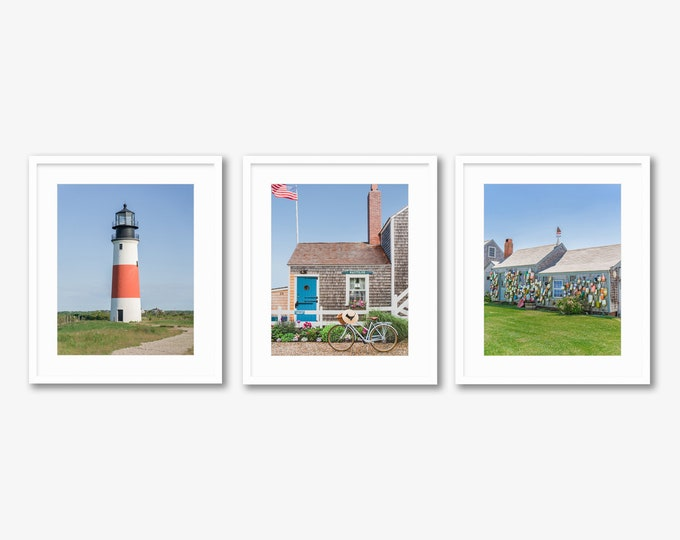 Nantucket Charm -- Photo Series -- Travel Photography -- Home Decor