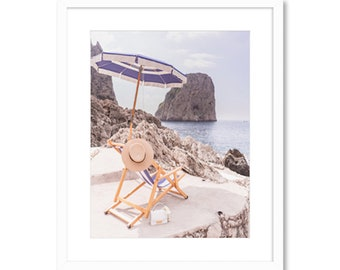 Out of Office -- Capri Italy -- Travel Photography -- Home Decor