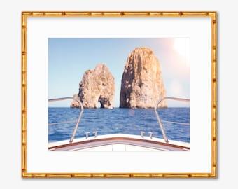 Capri Sun -- Capri, Italy -- Amalfi Coast -- Travel Photography -- Home Decor
