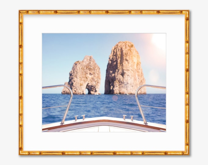 Capri Sun -- Capri, Italy -- Amalfi Coast -- Travel Photography -- Home Decor