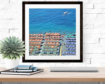 Life's A Beach -- Amalfi Coast, Italy -- Travel Photography -- Home Decor