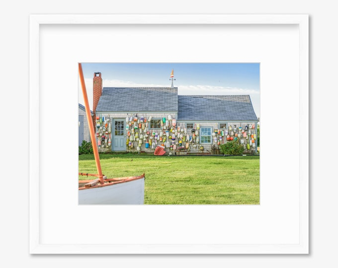 Buoy House -- Nantucket-- Travel Photography -- Home Decor