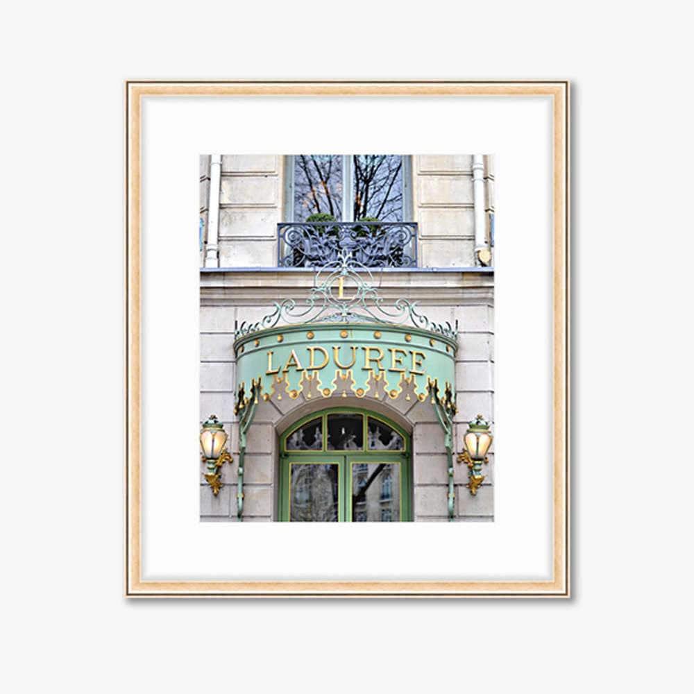 Paris Photograph -- Laduree Macarons -- Travel Photography