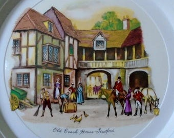 Hornsea Pottery Concept Picture Plate The Old Coach House Stratford