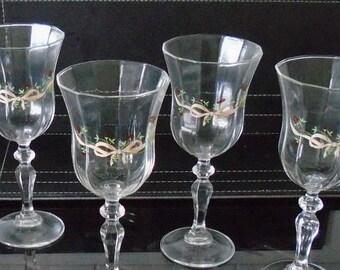 Johnson Brothers Eternal Beau Glasses set of 4